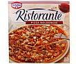 Pizza bolognese (carne picada de vacuno y queso) ultracongelada 375 gramos Ristorante Dr. Oetker