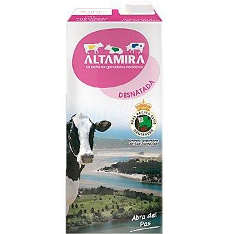 Altamira Leche Desnatada Brik 1 litro