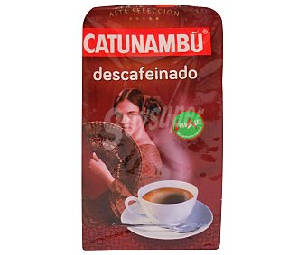 Catunambu Café molido natural descafeinado 250 Gramos