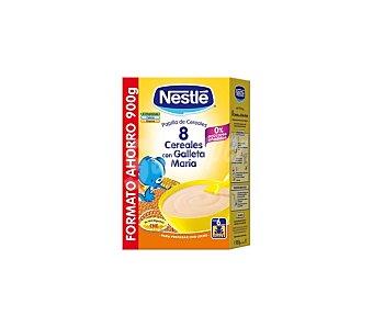Nestlé 8 Cereales con galleta Maria papilla instantanea desde 6 meses  paquete 900 g