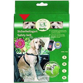 KARLIE arnes para perro ajustable para coche color negro medidas 40-60x2,5 cm 1 unidad