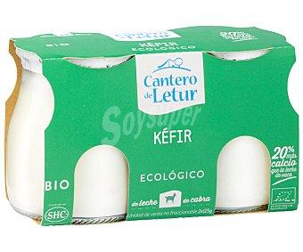 CANTERO DE LETUR Kefir de cabra Pack 2x125 gramos