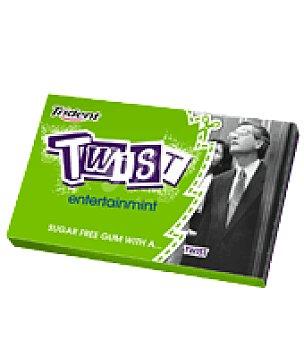 Trident Chicles de menta sin azúcar Twist 1 ud