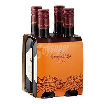 Campo Viejo Vino tinto d.o.ca Rioja Tempranillo Pack de 4x25 cl