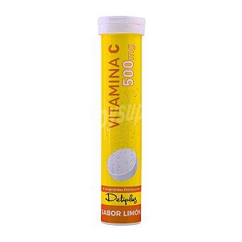 Deliplus Comprimido efervescentes con vitamina c sabor limon Tubo 20 u