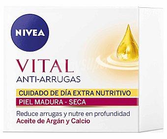 Nivea Crema de día Extra Nutritiva con aceite de argan y calcio 50 ml