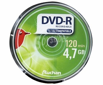 AUCHAN DVD Pack 10