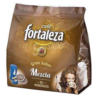 Fortaleza Café monodosis mezcla 16 ud