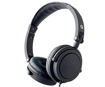 QILIVE DJ TM1139 Auriculares tipo Casco Negro, con cable