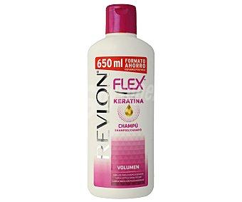 Flex Revlon Champú con keratina y pantenol, para cabellos finos o con poca densidad 650 ml