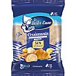 Croissants con mantequilla envasados individualmente 15 unidades Bolsa 450 g La Bella Easo