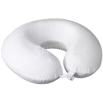 ANGEL FOAM Almohada cervical de viscoelástica en color blanco 1 unidad