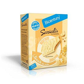 Bicentury Barritas chocolate blanco 100 g