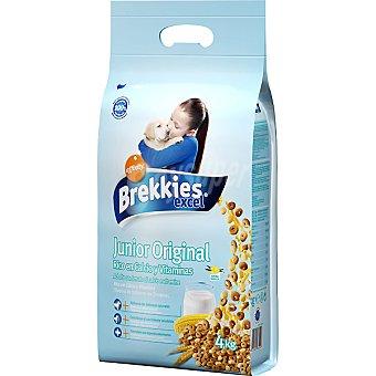Brekkies Affinity Cachorros con calcio y vitaminas Dog Puppy Excel Paquete 4 kg