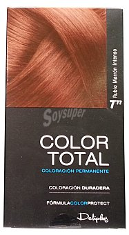 Deliplus Tinte coloracion permanente Nº 07.77 rubio marron intenso u