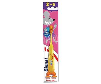 Signal Cepillo de dientes infantil (2 a 6 años), con filamentos ultra suaves Kids Kids
