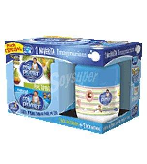 Danone Mi Primer Danone Yogur natural 4x125 g. + 4 multifrutas 4x100 g. 900 g