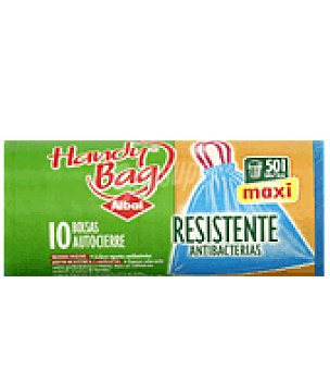 Albal Antibacterianas autocierre 50 L 10 bolsas