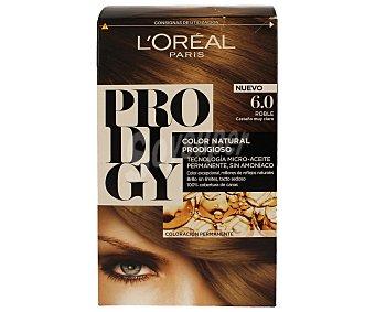 L'Oréal- Prodigy Tinte coloración extraordinaria nº 6.0 Roble Castaño muy claro 1 ud