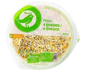 Productos Económicos Alcampo Pizza fresca 4 quesos 325 g