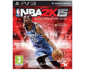 2K NBA 15 PS3 1u 2K