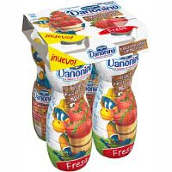 Danonino Danone Danonino bebefruta de fresa Pack 4x155 g
