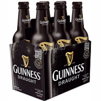 Guinness Cerveza Draught Pack 4x33 cl