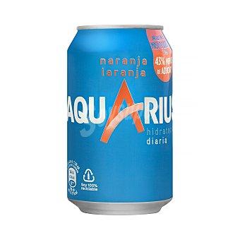 Aquarius Bebida isotónica sabor naranja Lata 33 cl