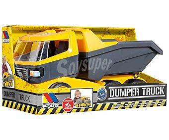 Molto Camión con volquete articulado, 43cm., Dumper Truck moltó