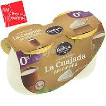 Goshua Cuajada de oveja desnatada Pack 2x125 g