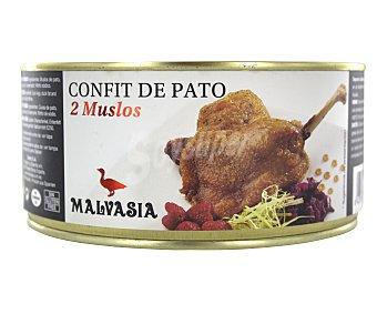 Malvasia Confit de pato, 2 muslos 400 g