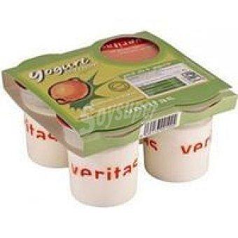 Veritas Yogur de fresa Pack 4x125 g