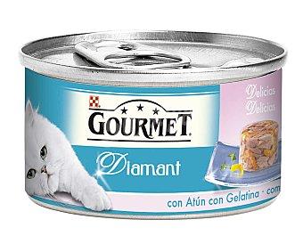 Gourmet Purina Atún y gambas para gatos  lata de 85 g