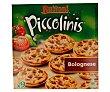 Mini pizzas a la boloñesa estuche 270 g 9 unidades Buitoni Piccolinis