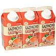Gazpacho refrigerado Pack 3 briks x 330 ml DIA