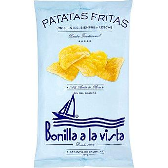 Bonilla Patatas fritas en aceite de oliva sin sal Bolsa 150 g
