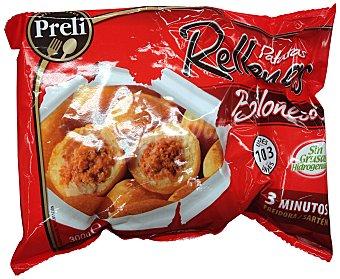 Preli Patatas congeladas rellenas boloñesa Paquete 300 g