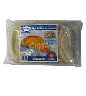 Argentinas Bydivino Empanada de pollo argentina 1 paquete de 6 unidades