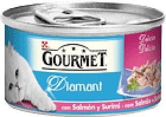Purina Gourmet ALIM.GATO SURIMI SALMON 85 GRS