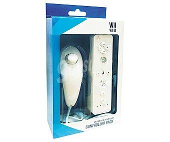 INDECA Mando remoto más Nunchaku para Wii y wiiu 1 Unidad