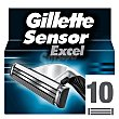 Recambio sensor excel 10 ud Gillette Sensor