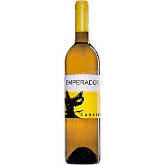 EMPERADOR DE BARROS Vino blanco de Extremadura Cayetana Botella de 75 cl