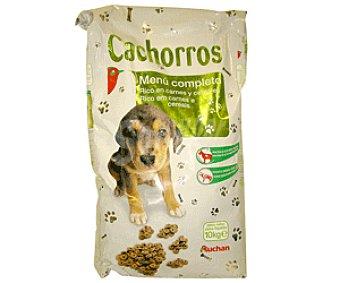 Auchan Comida Seca para Cachorros de Perro: Croquetas Saco de 10 Kilogramos