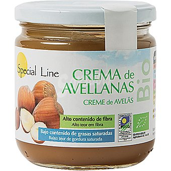 Special Line crema de avellanas Bio  tarro 330 g