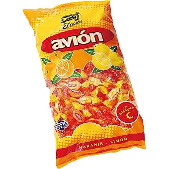 El Avión de naranja y limón con vitamina C Bolsa 400 g