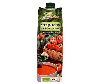 BIOSABOR Gazpacho ecológico bajo en sal con aceite de oliva virgen extra Envase 1 l