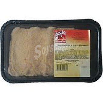 LOS SANFERMINES Lomo de york-queso Bandeja 500 g