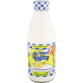 La Fageda Yogur líquido sabor limón Botella 750 ml
