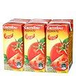 Zumo de tomate Carrefour con sal pack de 3 briks 25 cl Carrefour