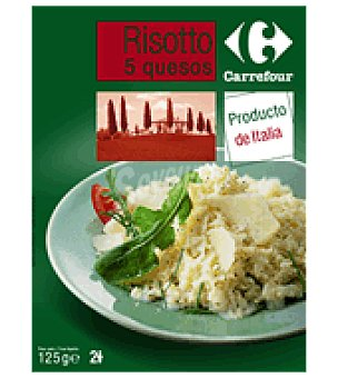 Carrefour Risotto 5 quesos 125 g